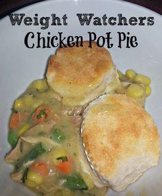Weight Watchers Chicken Pot Pie Recipe #weightwatchers #potpie #chicken