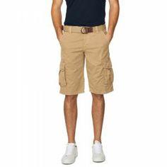 Gant Belted Cargo Shorts Dark Khaki - £85 with FREE UK Delivery #FathersDay #Gifts #Gant
