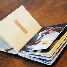 "DIY Moleskine ""Top 10"" Photo Album   Wedding Ideas   Brides.com   Wedding Ideas   Brides.com"