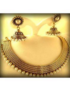 Party Wear Necklace Set Item code : JRN20