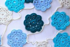 How to make a Maybelle Flower Garland