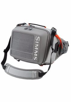 DESCRIPTION High-capacity, hip pack for fishing gear on the go. Simms' new Waypoints Hip Pack Large is a feature-rich companion powered by PU-coated 420D nylon Oxford and 210D nylon HT Dobby fabrics.