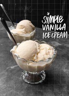 Did you know you can make Simple Vanilla Ice Cream with cream & condensed milk? Find the recipe on Shutterbean.com Easy Ice Cream Recipe, Homemade Ice Cream, Frozen Desserts, Fun Desserts, Frozen Treats, Dessert Recipes, Ice Pop Recipes, Ice Cream Recipes, Best Vanilla Ice Cream