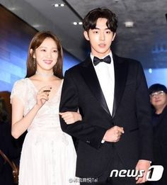 NJH won for something =) - can you tell us which category he won? Is it best new actor? Weightlifting Fairy Kim Bok Joo Scene, Weightlifting Kim Bok Joo, Korean Celebrities, Korean Actors, Celebs, Nam Joo Hyuk Lee Sung Kyung, Nam Joo Hyuk Wallpaper, Joon Hyung, Swag Couples