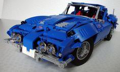 Lego Technic Corvette C2 Stingray 1963                                                                                                                                                                                 More