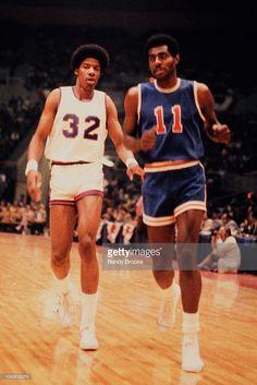 Doc v Bob Love NBA v ABA All Star Game 1972