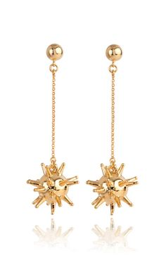 Shop Sputnik Earrings by Lele Sadoughi for Preorder on Moda Operandi