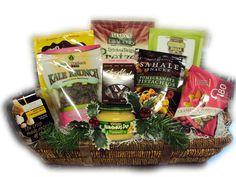 Gluten Free Gift Basket - Christmas.Healthy Gift Basket #healthy gift Basket #Healthy #Gift Basket #basket #Gift Basket