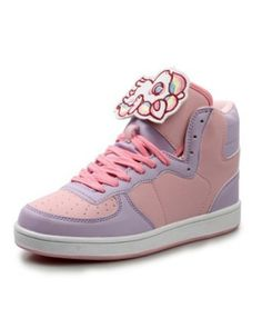 >> Click to Buy << Girl Women Faux Leather Trainers Walking Sport High Top Shoes Harajuku Cartoon Kawaii Lolita Ankle Boots Skate Shoe Plus Size 40 #Affiliate