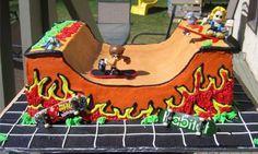 Skate Cake!