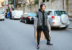 Street Style: Milan Fashion Week Fall 2015 – Vogue