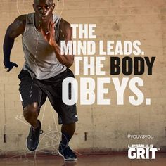 Commit your mind to you workout to see the results in your body. #grit #NoPainNoGain