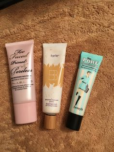 Gotta love these Primers! #toofaced #tarte #benefit