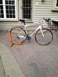 Wooden Bicycle Stand - by 489tad @ LumberJocks.com ~ woodworking community