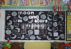 Moon and stars classroom display photo - Photo gallery - SparkleBox