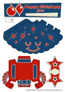 Blog_Paper_Toy_papertoy_Xmas_Tree_blue_template_preview