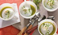 Einfach Lecker - Zucchini-Cappuccino mit Kresse