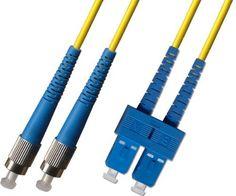 20M Singlemode Duplex Fiber Optic Cable (9/125) - FC to SC by Ultra Spec Cables. $24.99. 20M Singlemode Duplex Fiber Optic Cable (9/125) - FC to SC