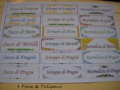 Etichette IV interessano delle etichette? Vi regalo le mie, pronte da usare così come sono o da modificare come da personali esigenze. http://blog.cookaround.com/vincenzina52/etichette-alimentari-2/