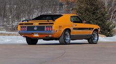 1970 Ford Mustang Mach 1 Twister Special 351 CI, Automatic