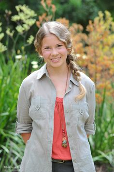Bindi Irwin, daughter of the late Crocodile Hunter, is such a strong girl in her own right.