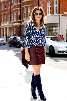 Street Style Photoblog - Fashion Trends - Francesca Versace, London Fashion Week