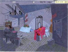 Mr Magoos Christmas Carol-pawnshop 60s Cartoons, Vintage Cartoons, Classic Cartoons, Mr Magoo, Cartoon Background, Animation Background, Environment Concept Art, Environment Design, Design Art Drawing