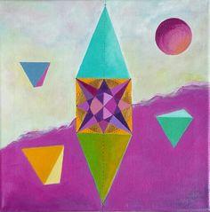 arte intuitivo/arte que sana/sacredgeometry/lorena carreño