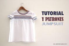 Tutoriales de costura: Camiseta estilo boho