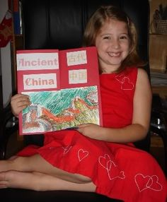 Ancient China Lapbook | Jimmie's Collage
