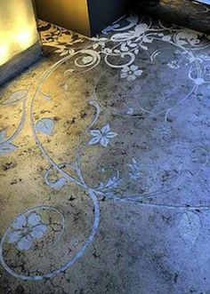Stamped Concrete - Gorgeous!