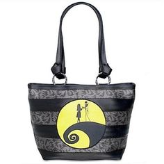 Harveys Disney Couture Seatbelt Tote Bag Purse Nightmare Before Christmas | eBay