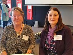 Our friends Denise & Sue at the Women's Connect Luncheon Sept 2015.