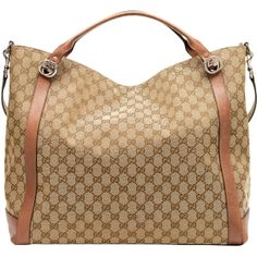 Gucci Miss GG Original GG Canvas Top Handle Bag, Tan 2014