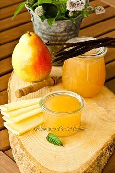 Завтраки, обеды, ужины - Грушевый конфитюр с ванилью