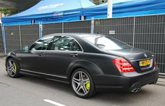 Mercedes-Benz S65 AMG — Murdered-Out: 50 Menacing Matte Black Cars | Complex