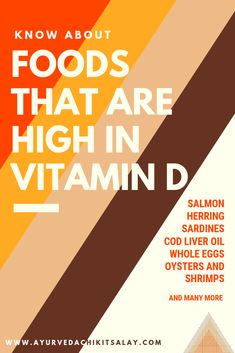 Foods High in Vitamin-D - Ayurveda Chikitsalay Vitamin D Benefits, Vitamin D Foods, Vitamin D Deficiency, Cod Liver Oil, Chocolate Chip Banana Bread, Whole Eggs, How To Get, How To Plan, Health And Nutrition