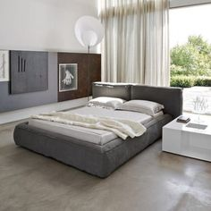 Fluff Double Bed - Bonaldo