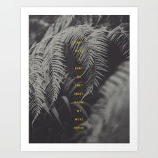 Bury Us Art Print