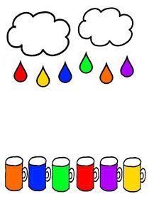 Color Worksheets For Preschool, Preschool Colors, Preschool Writing, Preschool Learning Activities, Color Activities, Infant Activities, Teachers Day Drawing, Bookmarks Kids, Bonding Activities