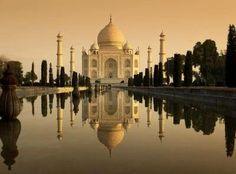 Taj Mahal wonderfull place :)