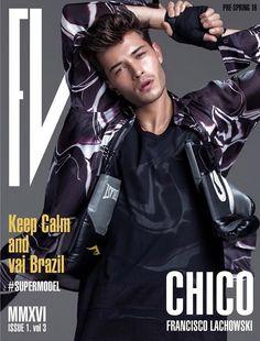 Francisco Lachowski Covers FV Magazine Pre-Spring 2016