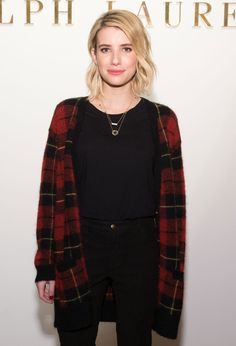 3 Ways to Bring Edge to a Bob: Emma Roberts's Lived-In Texture – Vogue