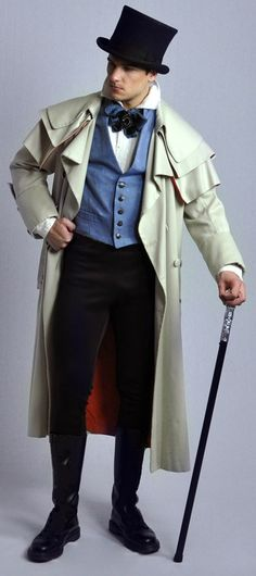 Regency Gentleman, reproduced by The Costume Shop, Melbourne.