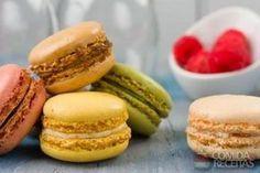 Receita de Macarons em Biscoitos e bolachas, veja essa e outras receitas aqui!