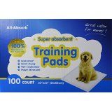 All-absorb Training Pads 100-count, 22-inch By 23-inch @ rlmenterprisessolutioninc.com
