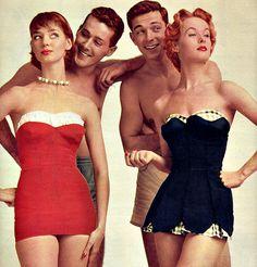 1950's Swimwear. ♥