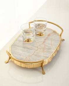 Century Marble Tray at Horchow.