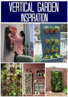Vertical Garden Inspiration Ideas #DigIn