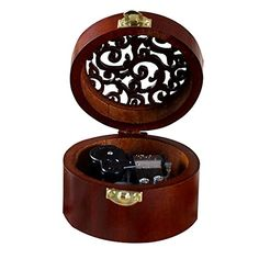 Biscount Vintage Wooden Music Box Wood Round Musical Toys For Wedding Gift Birthday Gift Valentines Day GiftHappy Birthday Rhythm >>> Details can be found by clicking on the image. Canon Music, Decorative Accessories, Decorative Boxes, Creative Sound, Wooden Music Box, Castle In The Sky, Musical Toys, Cheap Baby Clothes, Phonograph